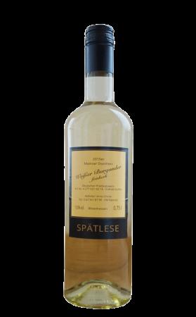 Weißer Burgunder Spätlese, 0,75l