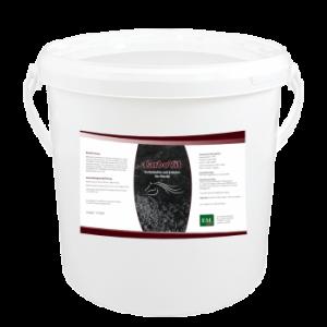 CarboVit für Pferde 11l - Spezial Futterkohle mit Kräutern und EM