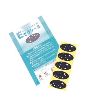 EM-X Esmog C-Seal Aufkleber, 5 Stück