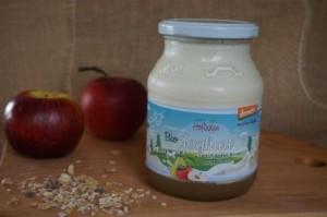 Apfel-Birne auf Naturjoghurt aus Demeter-Frischmilch, 500g
