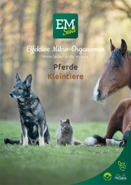 EM-Anwendung Pferde und Kleintiere