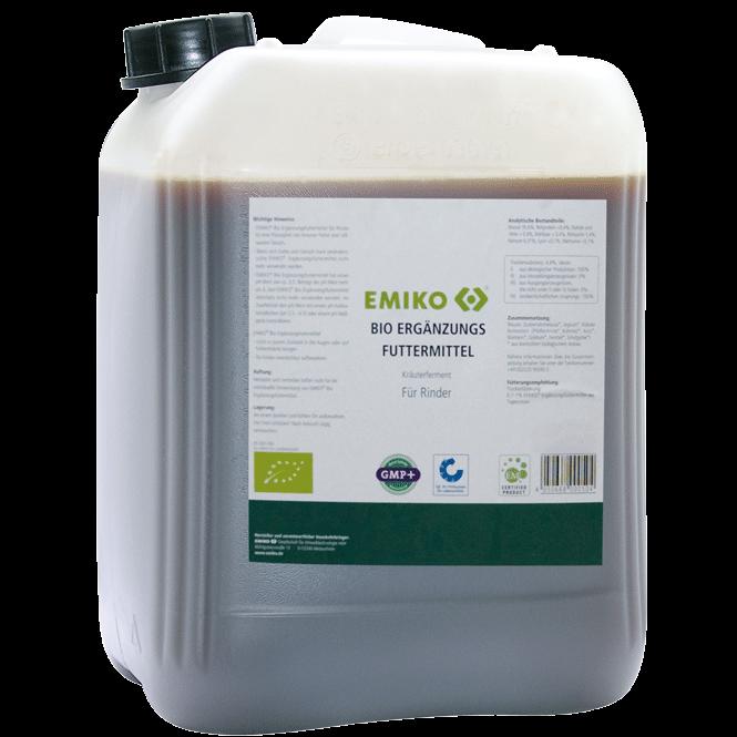 EMIKO Bio Ergänzungsfuttermittel Rinder 25 Liter