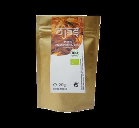 Macis (Muskatblüte) ganz - Bio EM Gewürz, 20 g