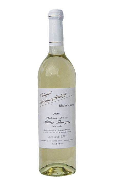 Weißwein Müller Thurgau feinherb, 0,75l