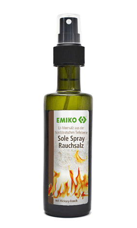 Ur-Meersalz Sole Spray Rauchsalz, 100ml in der Sprühflasche