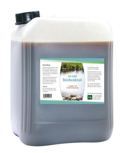EM-Süd Teichcoktail (zur Algen- und Schlammreduzierung), für 10m³ Wasser