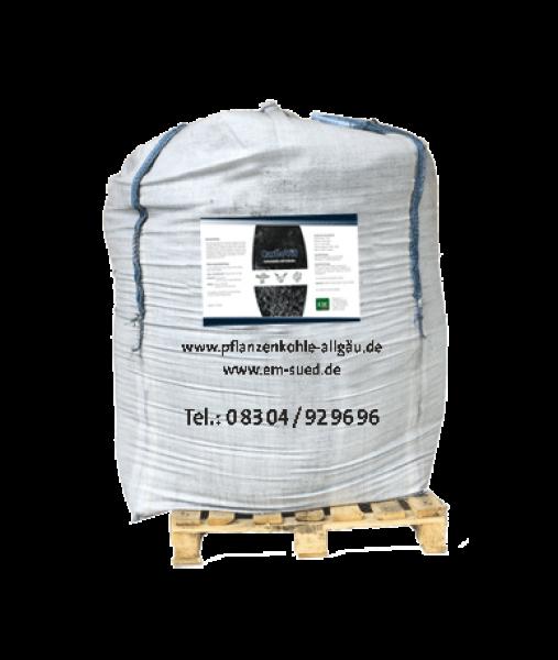 CarboVit - Futterkohle mit Kräutern und EM 1200 l im BigBag, ca. 390kg, 1,27 €/kg