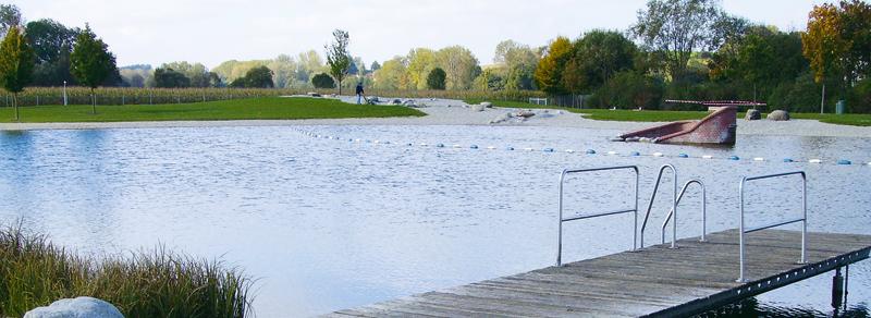 Teiche und Schwimmbäder
