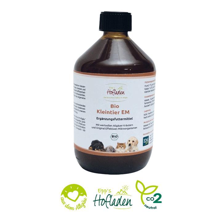 Bio Kleintier EM - Ergänzungsfuttermittel für Kleintiere 500ml