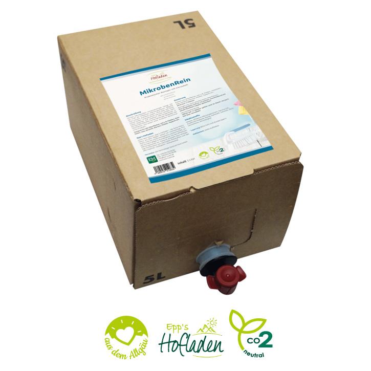MikrobenRein 5 Liter, Bag in Box