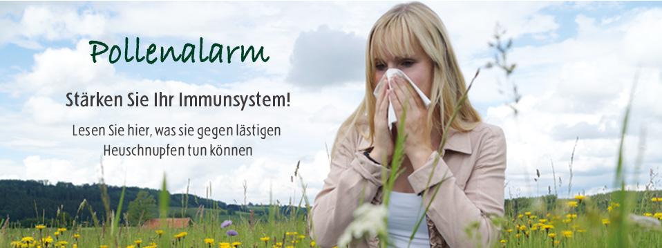 Stärken Sie ihr Immunsystem!